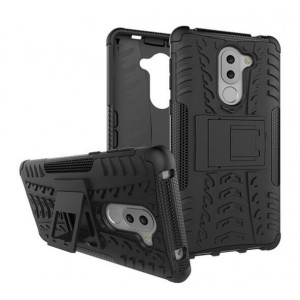 Protection Solide Type Otterbox Noir Pour Huawei GR5
