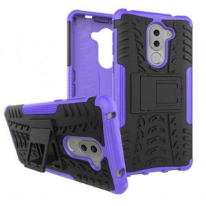 Protection Antichoc Type Otterbox Violet Pour Huawei GR5
