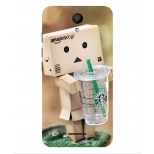 Coque De Protection Amazon Starbucks Pour Wiko Harry