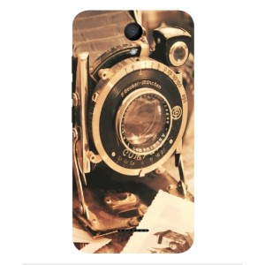 Coque De Protection Appareil Photo Vintage Pour Wiko Harry