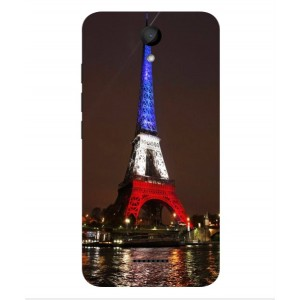 Coque De Protection Tour Eiffel Couleurs France Pour Wiko Harry