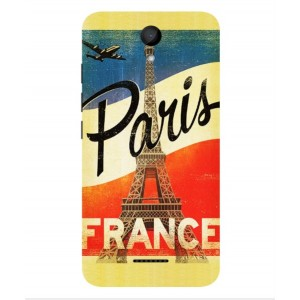 Coque De Protection Paris Vintage Pour Wiko Harry