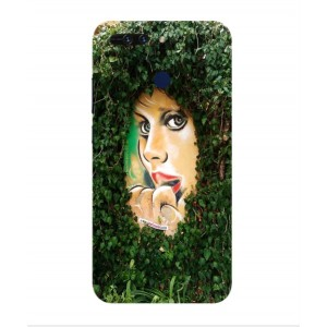 Coque De Protection Art De Rue Pour Huawei Honor V9