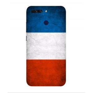 Coque De Protection Drapeau De La France Pour Huawei Honor V9