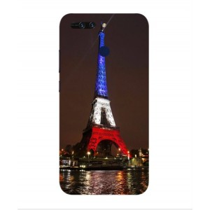 Coque De Protection Tour Eiffel Couleurs France Pour Huawei Honor V9