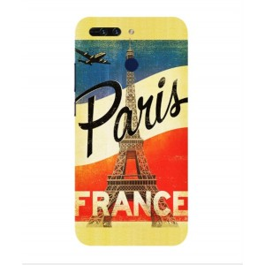 Coque De Protection Paris Vintage Pour Huawei Honor V9