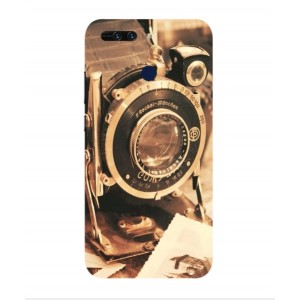 Coque De Protection Appareil Photo Vintage Pour Huawei Honor V9