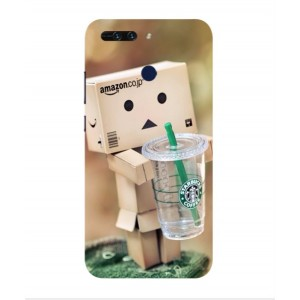 Coque De Protection Amazon Starbucks Pour Huawei Honor V9