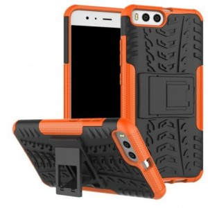 Protection Antichoc Type Otterbox Orange Pour Xiaomi Mi 6