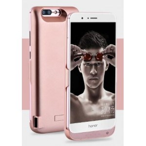 Coque Rechargeable Pour Huawei Honor 8 Pro - Couleur Rose