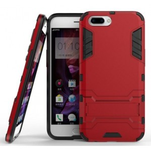 Protection Antichoc Type Otterbox Rouge Pour Oppo R11 Plus