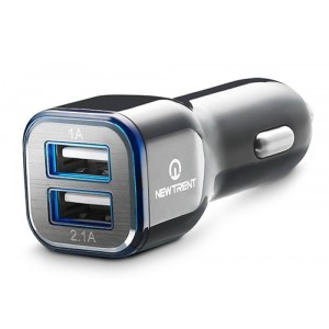 Chargeur Allume-Cigare Dual USB 3.1A Pour Huawei Y6 2017