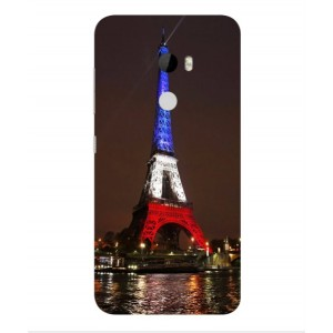 Coque De Protection Tour Eiffel Couleurs France Pour HTC One X10