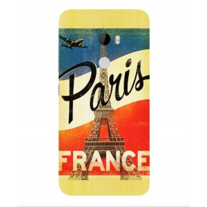 Coque De Protection Paris Vintage Pour HTC One X10