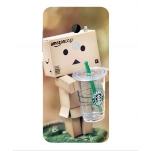 Coque De Protection Amazon Starbucks Pour HTC One X10