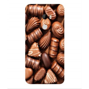 Coque De Protection Chocolat Pour HTC One X10