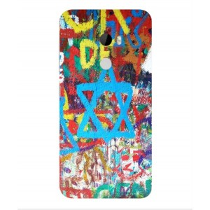 Coque De Protection Graffiti Tel-Aviv Pour HTC One X10