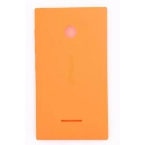 Cache Batterie Pour Microsoft Lumia 435 - Orange
