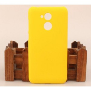 Coque De Protection Rigide Jaune Pour Huawei Honor 6A