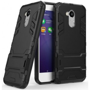 Protection Solide Type Otterbox Noir Pour Huawei Honor 6A