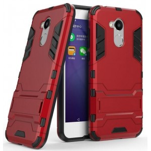 Protection Antichoc Type Otterbox Rouge Pour Huawei Honor 6A