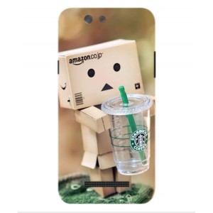 Coque De Protection Amazon Starbucks Pour Wileyfox Spark