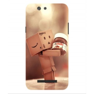 Coque De Protection Amazon Nutella Pour Wileyfox Spark