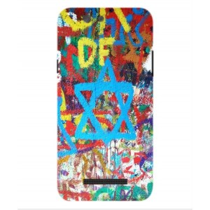 Coque De Protection Graffiti Tel-Aviv Pour Wileyfox Spark X