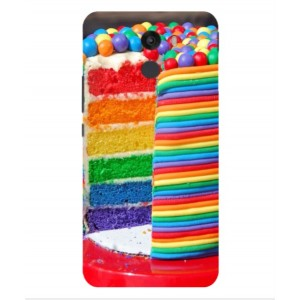 Coque De Protection Gâteau Multicolore Pour Wileyfox Swift 2