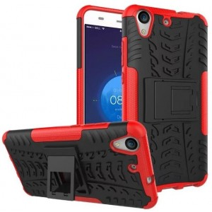 Protection Antichoc Type Otterbox Rouge Pour Huawei Y6II Compact