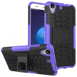 Protection Antichoc Type Otterbox Violet Pour Huawei Y6II Compact