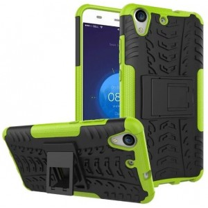 Protection Antichoc Type Otterbox Vert Pour Huawei Y6II Compact