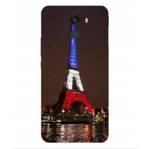 Coque De Protection Tour Eiffel Couleurs France Pour Wileyfox Swift 2 Plus