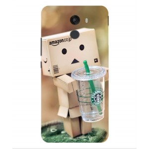 Coque De Protection Amazon Starbucks Pour Wileyfox Swift 2 Plus
