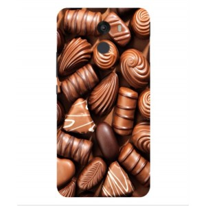 Coque De Protection Chocolat Pour Wileyfox Swift 2 Plus