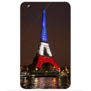 Coque De Protection Tour Eiffel Couleurs France Pour ZTE Grand X View 2