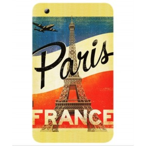 Coque De Protection Paris Vintage Pour ZTE Grand X View 2