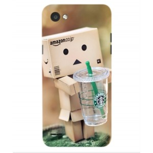 Coque De Protection Amazon Starbucks Pour LG Q6