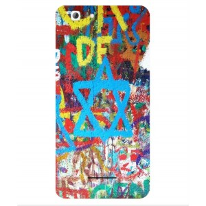 Coque De Protection Graffiti Tel-Aviv Pour Altice Staractive 2