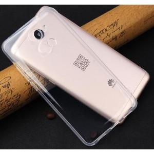 Coque De Protection En Silicone Transparent Pour Huawei Y7