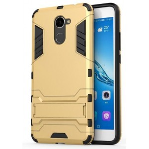 Protection Antichoc Type Otterbox Or Pour Huawei Y7 Prime