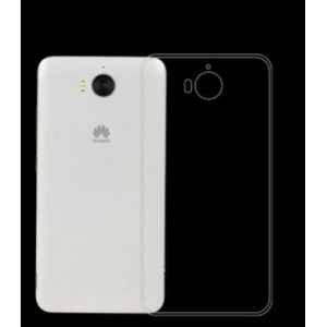 Coque De Protection En Silicone Transparent Pour Huawei Y6 2017