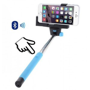 Perche à Selfie Bluetooth Bleu Pour param_selected_subcategory