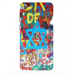 Coque De Protection Graffiti Tel-Aviv Pour Alcatel Pulsemix