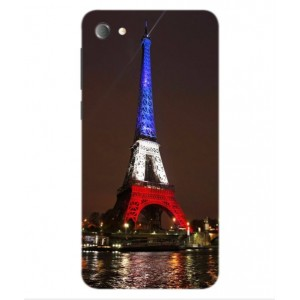 Coque De Protection Tour Eiffel Couleurs France Pour Alcatel Pulsemix