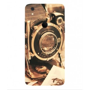 Coque De Protection Appareil Photo Vintage Pour Alcatel Idol 5s