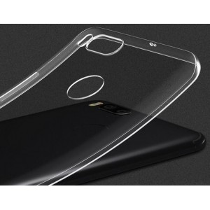 Coque De Protection En Silicone Transparent Pour Xiaomi Mi 5X