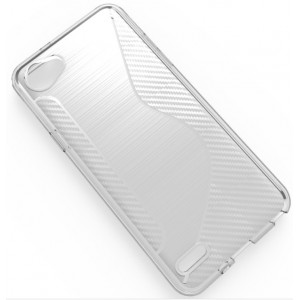 Coque De Protection En Silicone Transparent Pour LG Q6