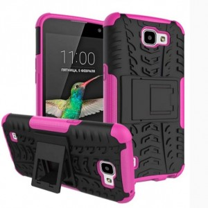 Protection Antichoc Type Otterbox Rose Pour LG K4