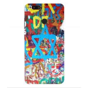 Coque De Protection Graffiti Tel-Aviv Pour Archos Diamond Gamma
